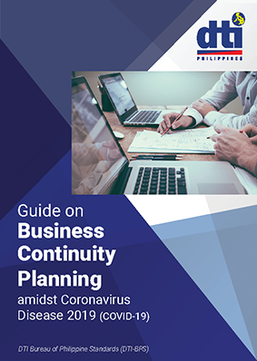 Cover Pages Guide on Business Continuity Planning amidst Coronavirus Disease 2019 COVID 19 v1 Page 1